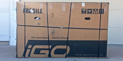 Igo Electric Elite Unboxing Shipped From Canada