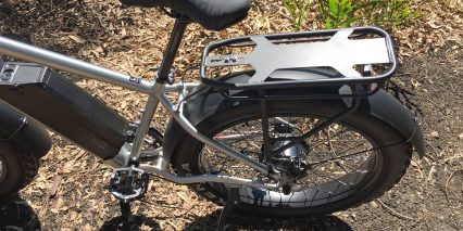 Juiced Ripcurrent S Rear Mount Kickstand Custom Alloy Rack