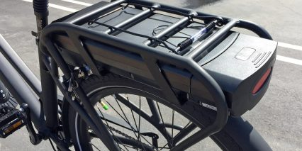 Pedego City Commuter Black Edition 48 Volt 10 Amp Hour Panasonic Rear Rack Battery