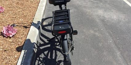 Pedego City Commuter Black Edition Integrated Rear Led Light