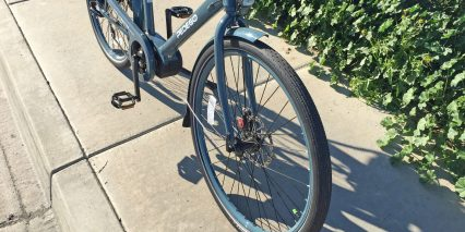 Pedego City Commuter Mid Drive Schwalbe Big Apple Balloon Tires
