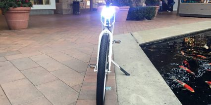 2018 Electric Bike Company Model S Integrated Blaze Lite Headlight