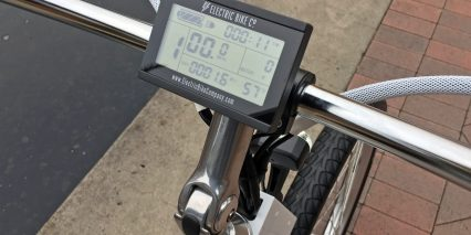 2018 Electric Bike Company Model S Lcd Display Panel