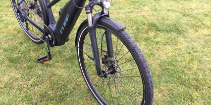 Cube Touring Hybrid Pro 400 Suntour Ncx Air Suspension Fork