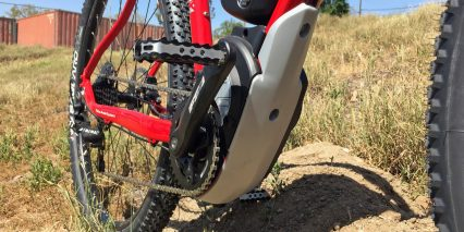 Fantic Gravel X Brose T Motor With Plastic Skid Plate