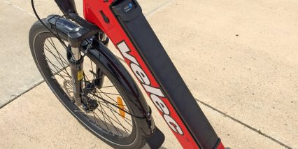 Velec R48m Downtube Integrated Lithium Ion Battery Pack