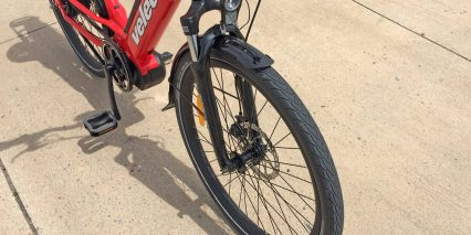 Velec R48m Sr Suntour Nex Spring Suspension Fork With Integrated Headlight