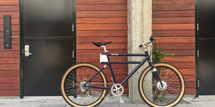 Faraday Porteur S Civic Edition Lightweight Electric Bicycle