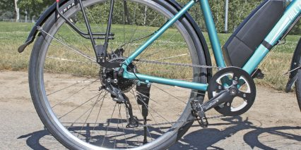 Hill Topper City Ultra Drivetrain Cranks Pedals