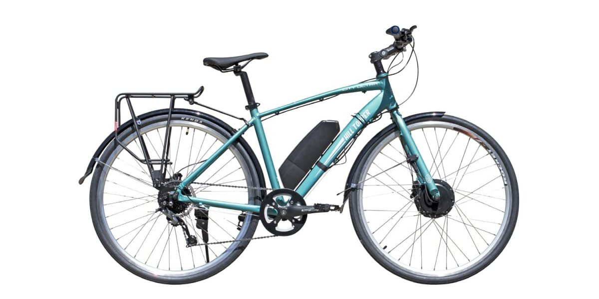 Hill Topper City Ultra Electric Bike Review