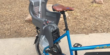 Ariel Rider M Class Compact Bicycle With Rear Child Seat