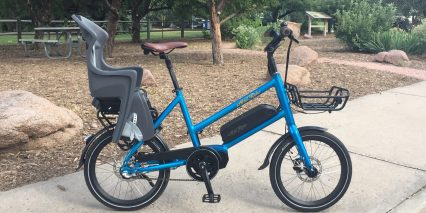 Ariel Rider M Class Ebike With Kids Seat
