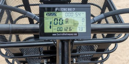 Electric Bike Company Model C Fixed Monochrome Lcd Display Panel