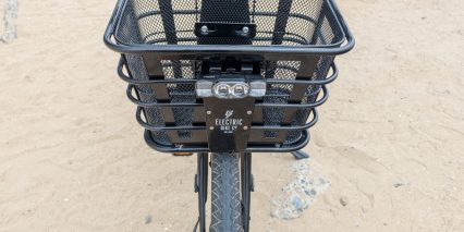 Electric Bike Company Model C Front Basket With Integrated Light