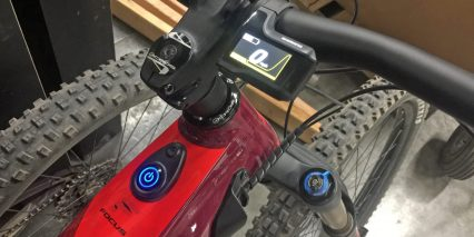 Focus Sam Squared Power Button Shimano Di2 Display Lcd