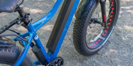 M2s Bikes All Terrain R750 Downtube Lithium Ion Battery Pack
