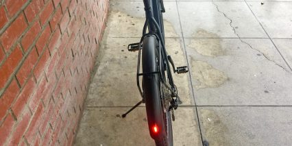 Trek Super Commuter Plus 7 Fender Integrated Supernova E3 Tail Light
