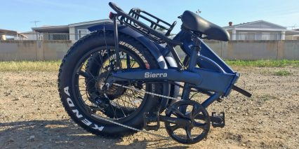 E Lux Sierra Folding Electric Bike