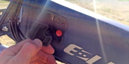 E Lux Sierra Usb A Charging Port On Battery On Of Switch