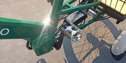 Evelo Compass Wellgo Alloy Pedals With Rubber Tread