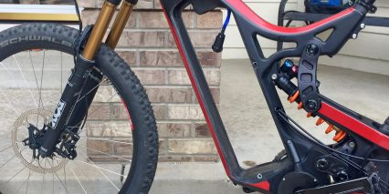 Optibike R15c Carbon Fiber Frame Without Battery Inserted