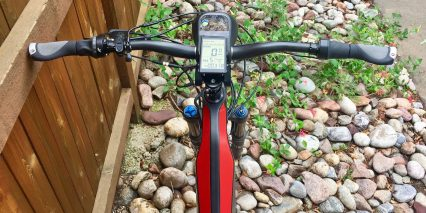 Optibike R15c Carbon Fiber Nokee Grayscale Lcd Display