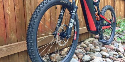 Optibike R15c Carbon Fiber Schwalbe Smart Sam Plus Sized Tires