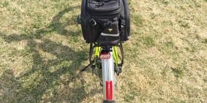 Optibike Rocky Mountain Commuter Topeak Rear Rack With Slide Trunk Bag