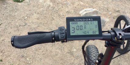 Sondors Fold Sport Old Rectangle Lcd Display
