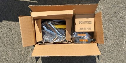 Sondors Fold Sport Tool Kit Pedals Charger
