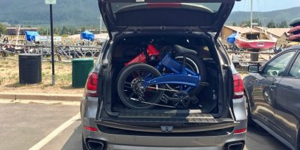 Two Sondors Folding Ebikes Fit In Car Trunk