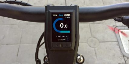 Riese Muller Homage Gt Touring Hs Bosch Color Display Kiox Closeup