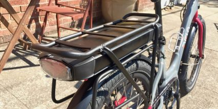 Evelo Galaxy 24 Rack Mounted Panasonic Ebike Battery With Backlight