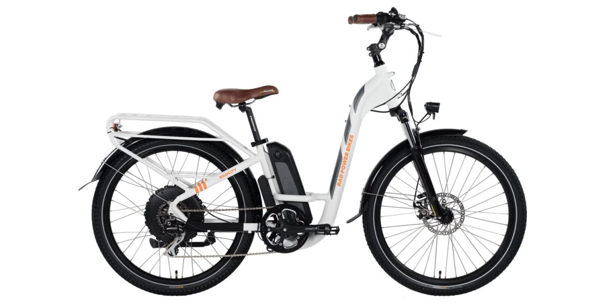 2019 Rad Power Bikes Radcity Step Thru Electric Bike Review