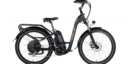 2019 Rad Power Bikes Radcity Step Thru Stock Black