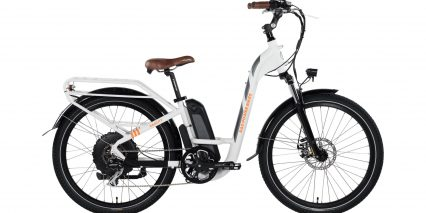 2019 Rad Power Bikes Radcity Step Thru Stock White
