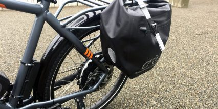 2019 Rad Power Bikes Radcity With Attached Pannier Bags