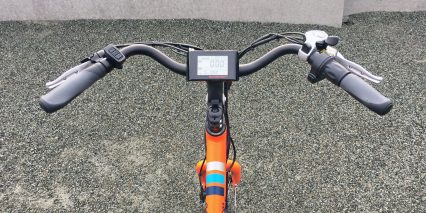 European Rad Power Bikes Radwagon Cockpit View Display