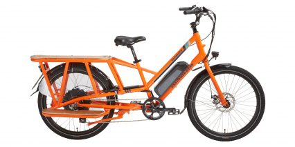 European Rad Power Bikes Radwagon Stock Mid Step Orange