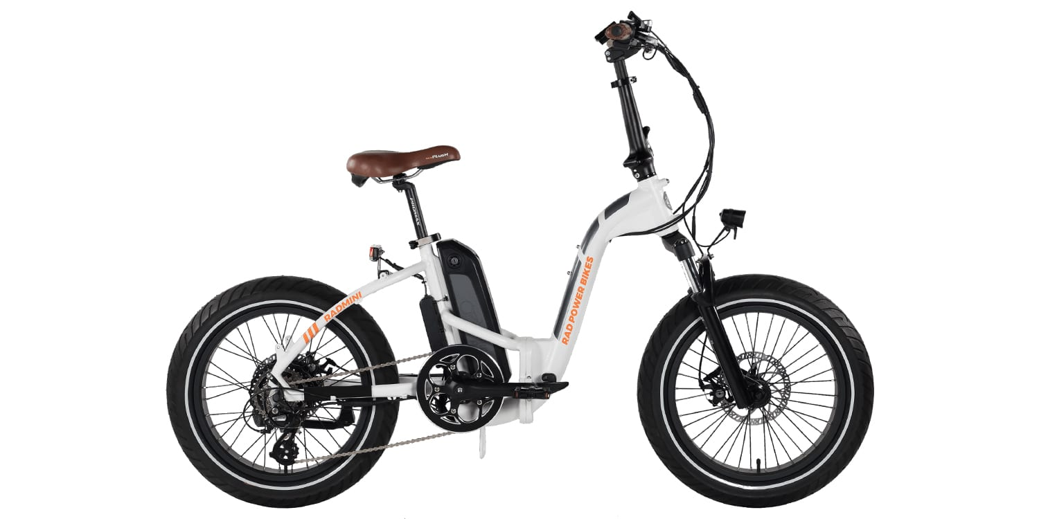 rad power bikes radmini step thru review prices specs. Black Bedroom Furniture Sets. Home Design Ideas