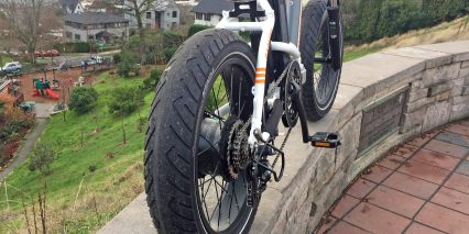 Rad Power Bikes Radmini Step Thru Road Fat Tires With Puncture Protection
