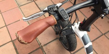 Rad Power Bikes Radmini Step Thru Stitched Ergonomic Grips