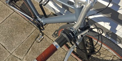 Desiknio Pinion Classic Brooks Leather Grips Shimano Lx Hydraulic Brake Levers