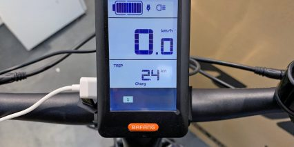 2019 Voltbike Enduro Bafang Display
