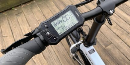 2019 Voltbike Urban Lcd Display Closeup