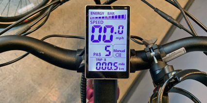Aventon Pace 350 Backlit Lcd Display