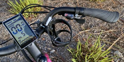 Aventon Pace 350 Cup Holder Trigger Shifter Window