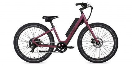 Aventon Pace 350 Stock Step Thru Amethyst