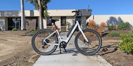 Aventon Pace 500 Step Through White