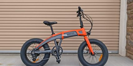 Maxfoot Mf19 Orange With Gray Accents Variant With Spokes